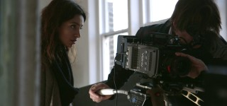 Production still: Fuuse CEO and Film Maker Deeyah Khan films JIHAD a story of the others